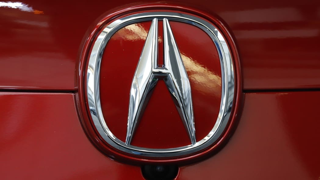 This is the Acura logo on the rear of a 2020 Acura ILX Premium model on display at the 2020 Pittsburgh International Auto Show Thursday, Feb.13, 2020 in Pittsburgh. (AP Photo/Gene J. Puskar)