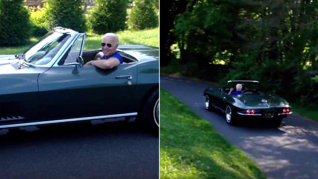 Joe Biden's 1967 Chevrolet Corvette