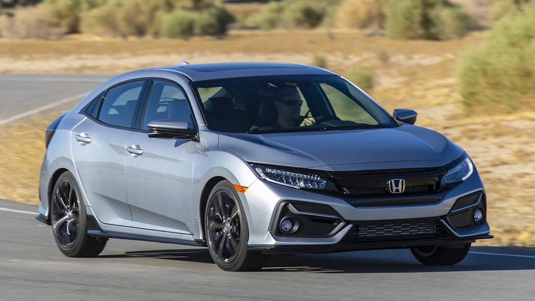4. Honda Civic Hatchback