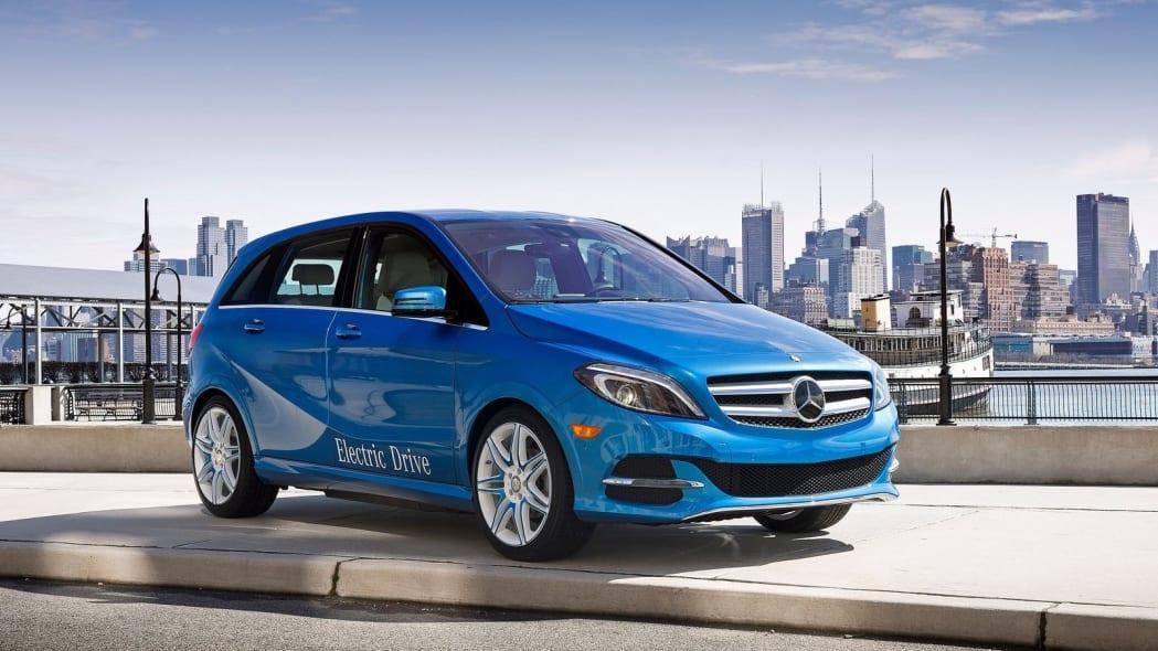 2017 Mercedes-Benz B-Class Electric Drive: 8 sales