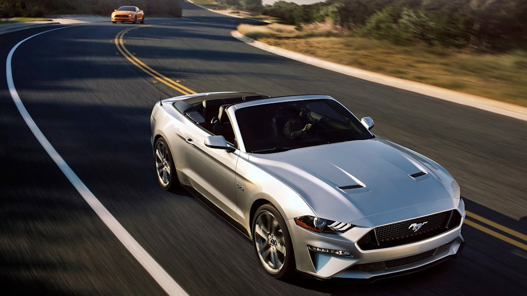 Ford Mustang GT Convertible: 8,408 miles driven