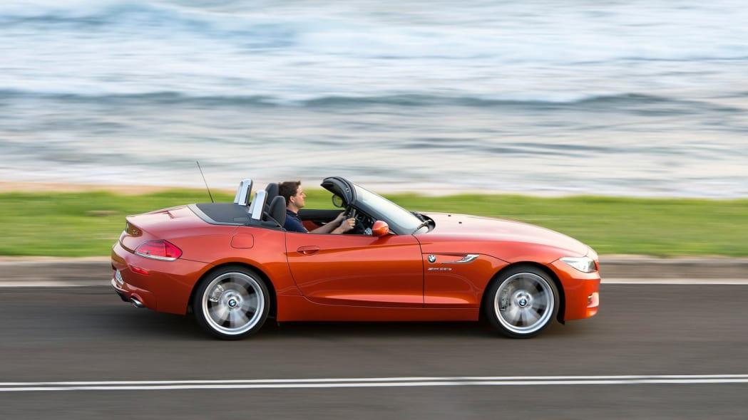 BMW Z4 Roadster: 6,869 miles driven