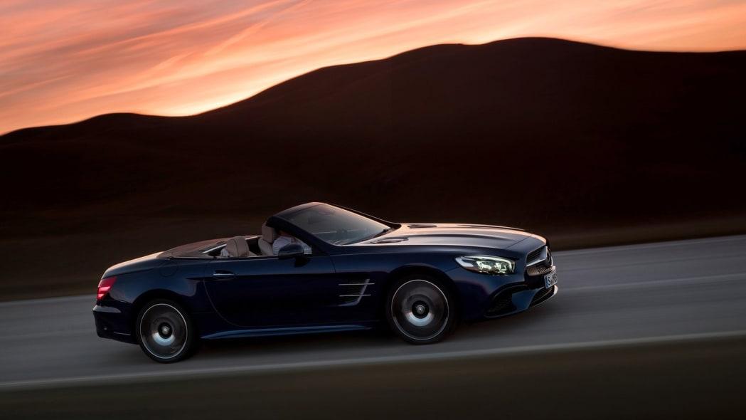 Mercedes-Benz SL: 6,220 miles driven