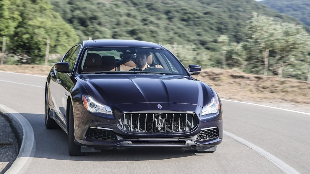 Maserati Quattroporte: 4,766 miles driven