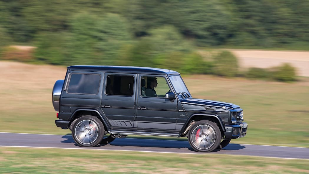 Mercedes-Benz G-Class: 8,420 miles driven: 8,420 miles driven
