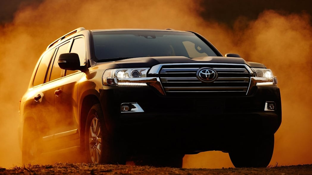 15. Toyota Land Cruiser