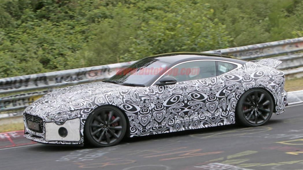 Jaguar F-Type Coupe 8