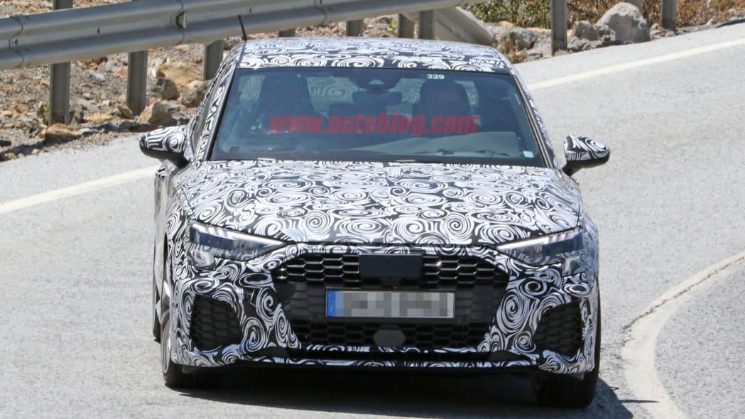 2020 Audi A3 sedan prototype