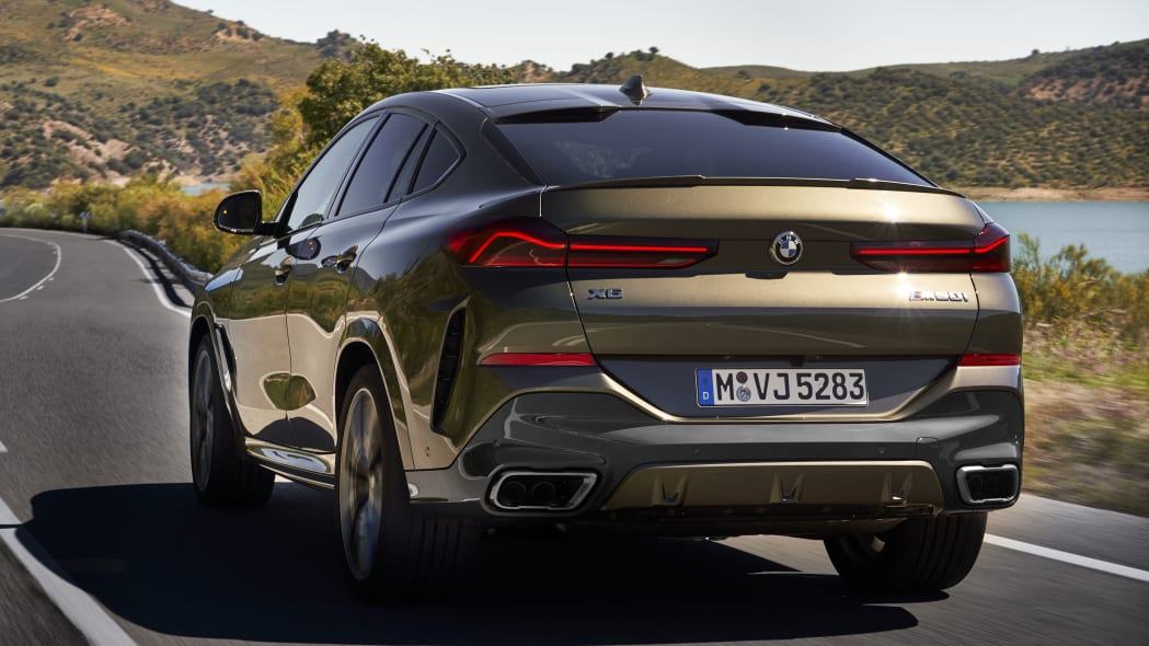 2020 BMW X6 M50i in bronze