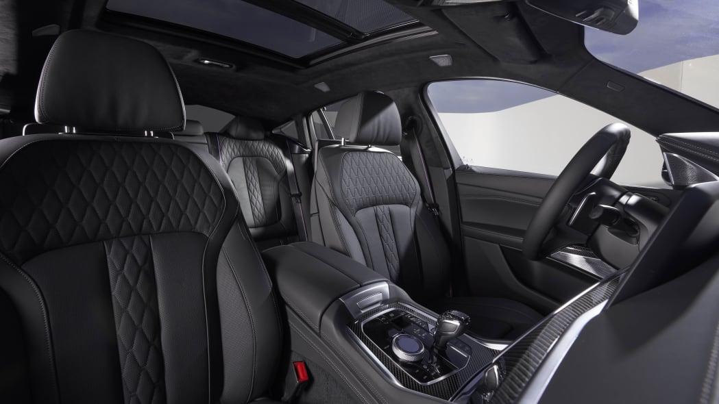 2020 BMW X6 M50i interior