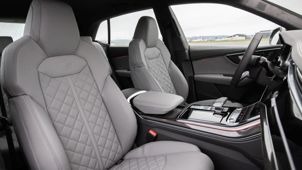 Audi SQ8 TDI interior