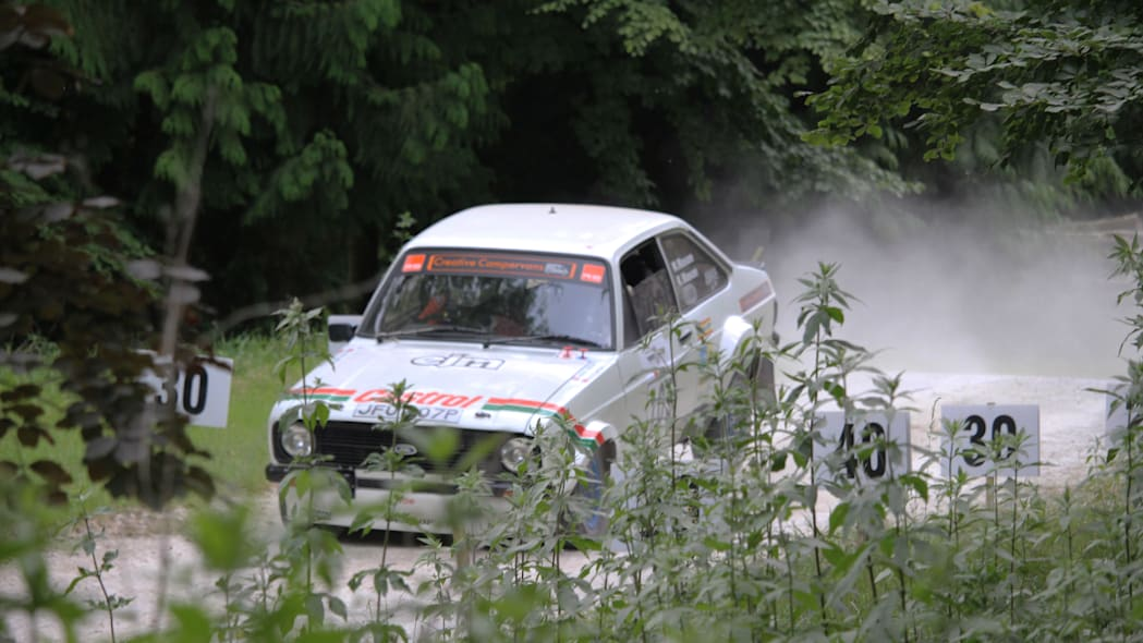 2019 Goodwood Festival of Speed rally stage