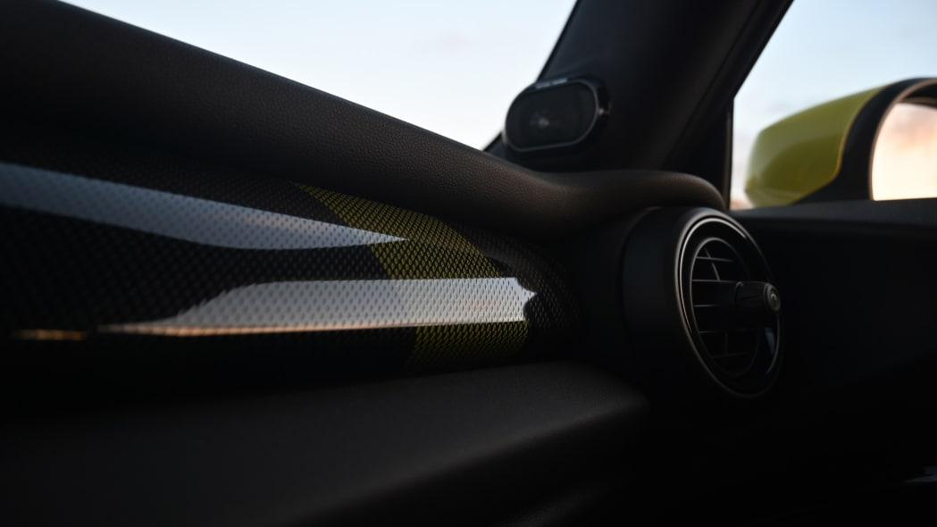 Mini Cooper SE electric hatchback interior