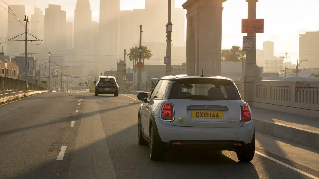 Mini Cooper SE electric hatchback rear