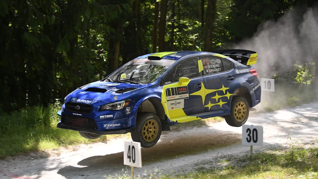 Subaru at the 2019 Goodwood Festival of Speed