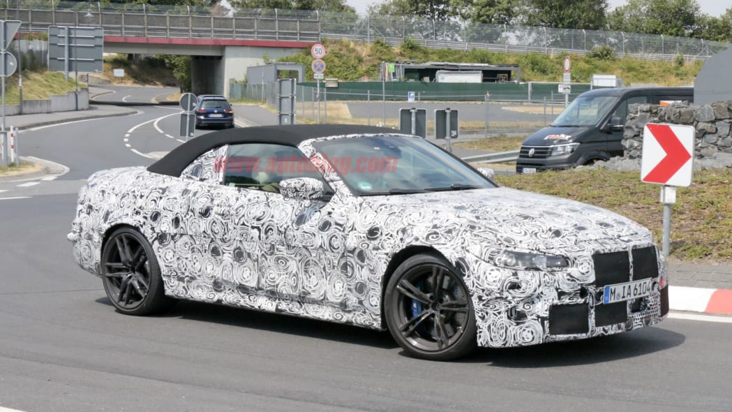 BMW M4 Convertible spied