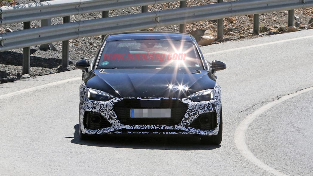 2020 Audi RS5 prototype in camouflage