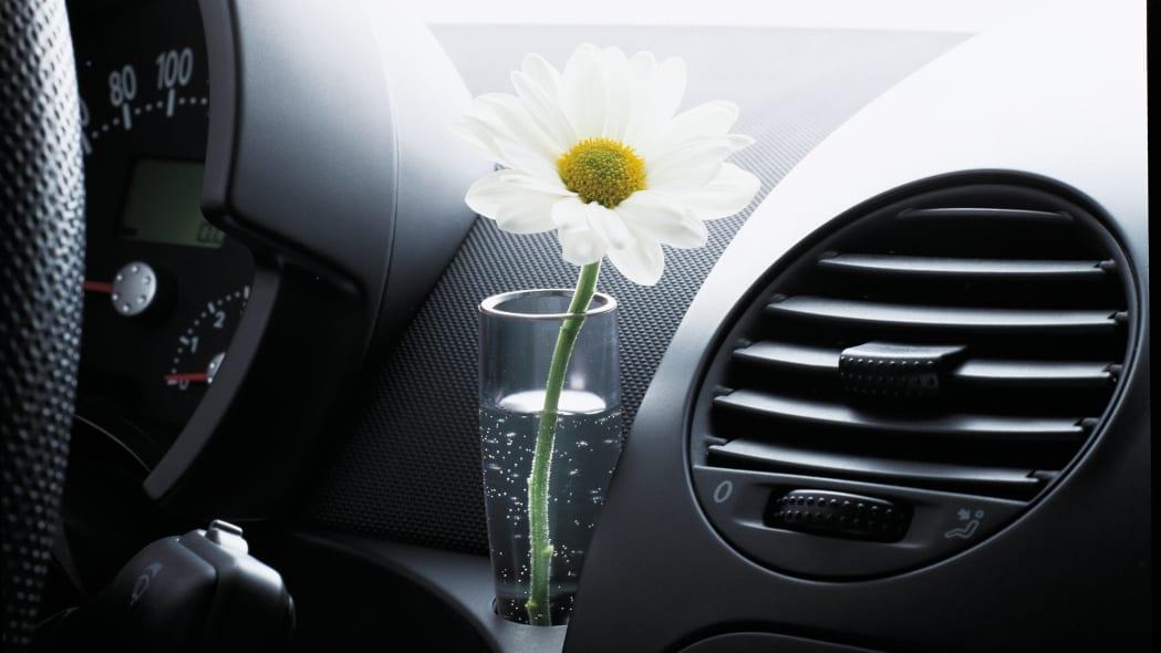 Volkswagen New Beetle flower vase