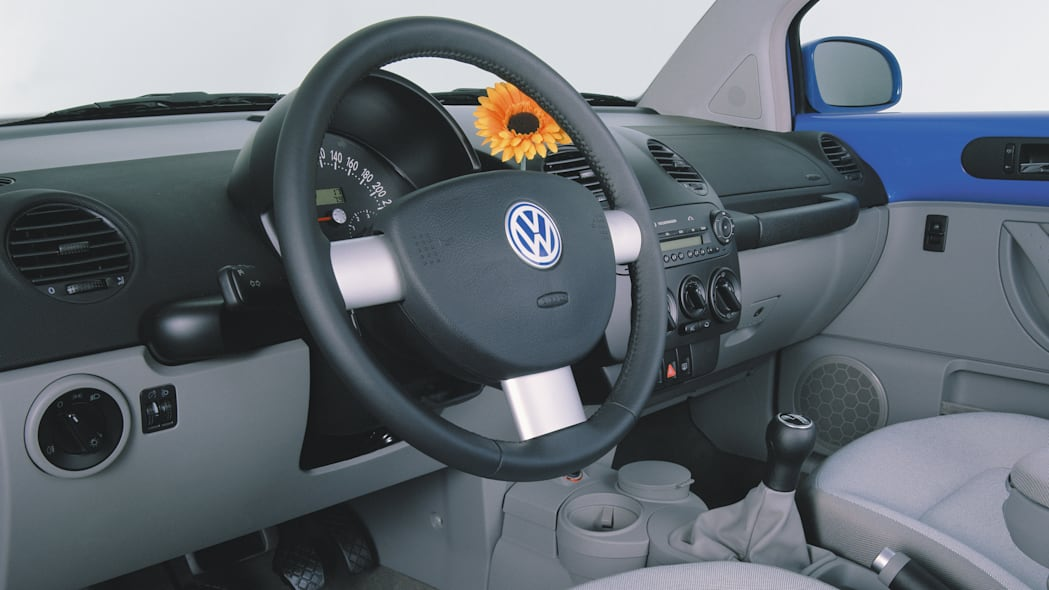 Volkswagen New Beetle interior