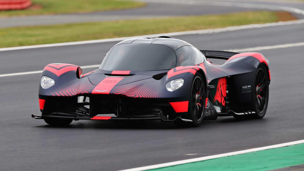 Aston Martin Valkyrie Lapping Silverstone