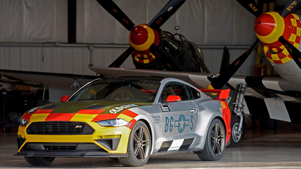 710-HP Roush 'Old Crow' Ford Mustang GT inspired by WWII pilot Bud Anderson