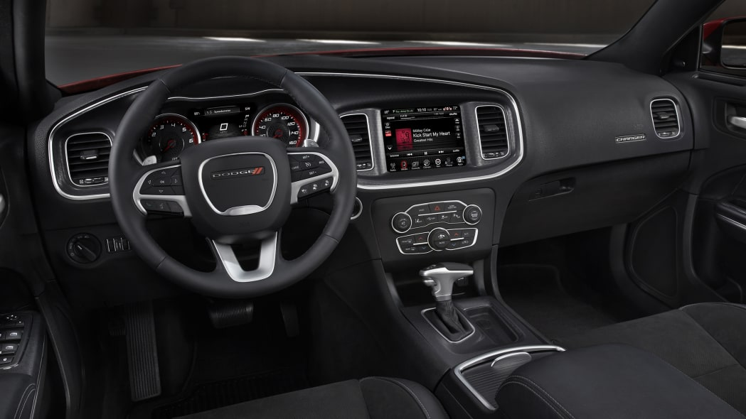 Dodge Charger R/T Scat Pack interior