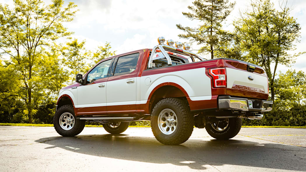 Retro Ford F-150 package is being sold straight from a Ford dealership in Ohio