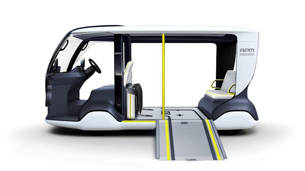 Toyota Accessible People Mover (APM)