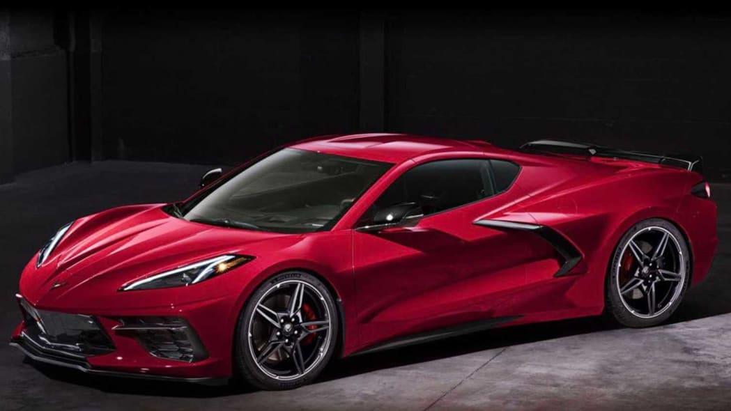 2020 Chevrolet Corvette C8 leaks ahead of its official debut - Autoblog
