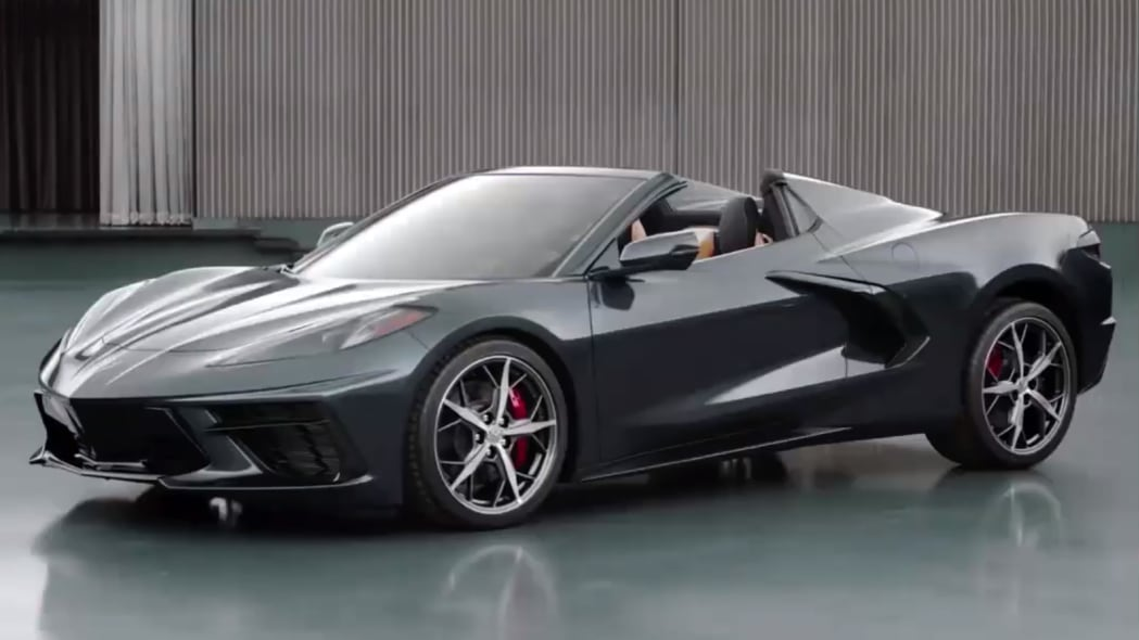 Yes, the 2020 Chevy Corvette C8 Convertible was revealed, too