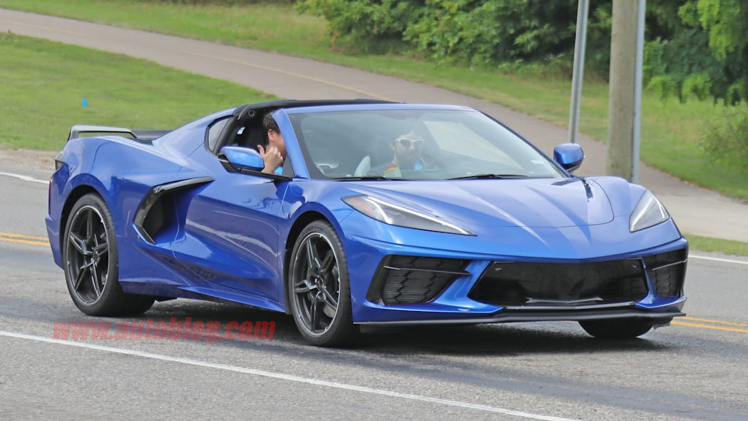 2020 Chevy Corvette Stingray C8 caught undisguised on public roads