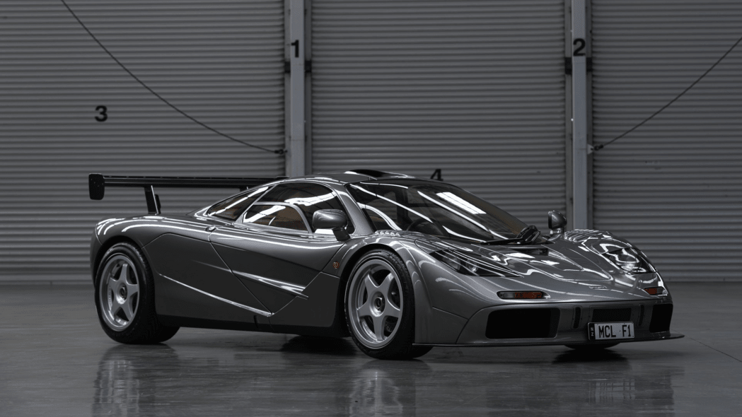 One of only two McLaren F1s in LM-Specification headed for auction in Monterey