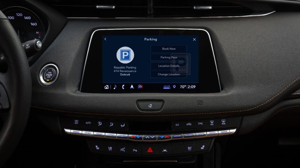 Cadillac Marketplace ParkWhiz App