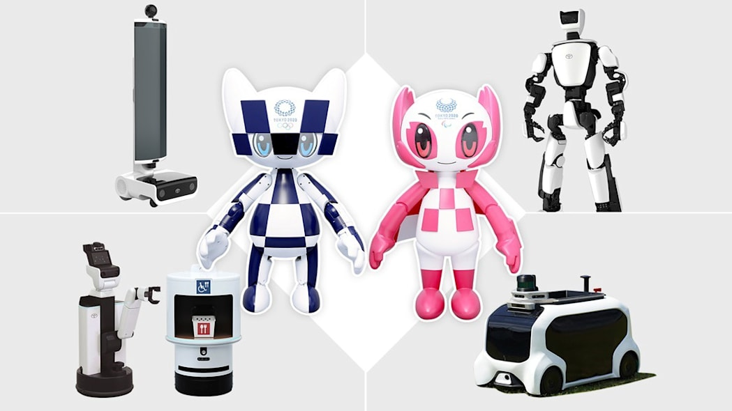 Tokyo 2020 Robot Project