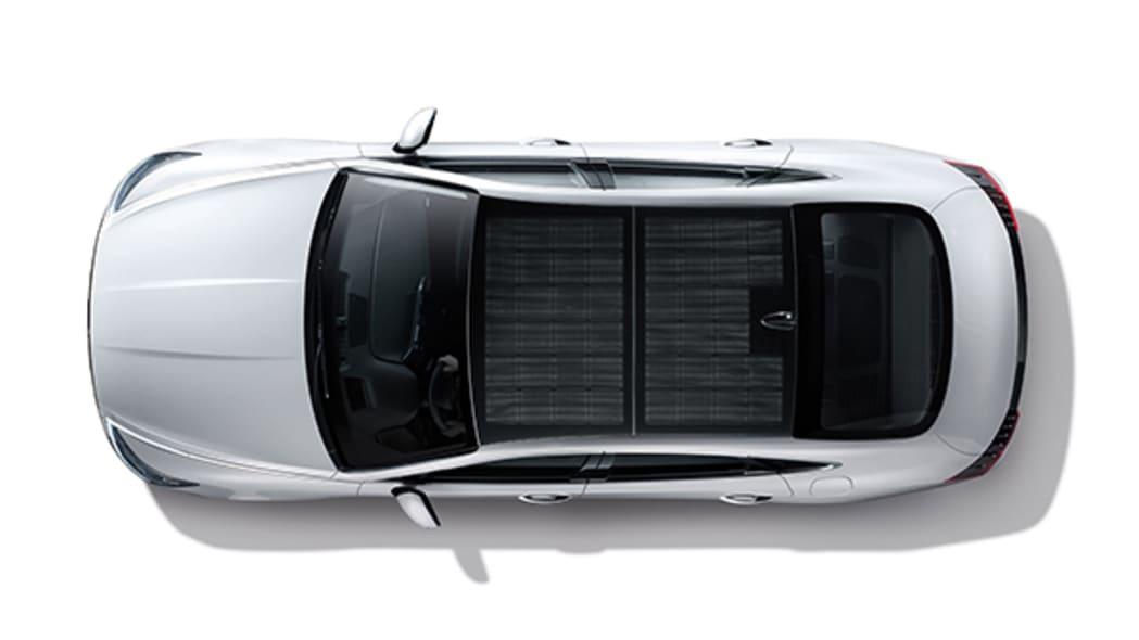2020 Hyundai Sonata Hybrid roof