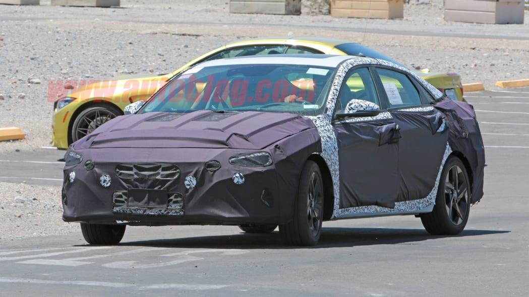 Next Hyundai Elantra spotted sporting a sleek new look