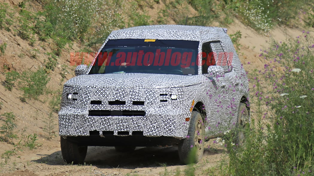 Ford Baby Bronco caught testing off-road