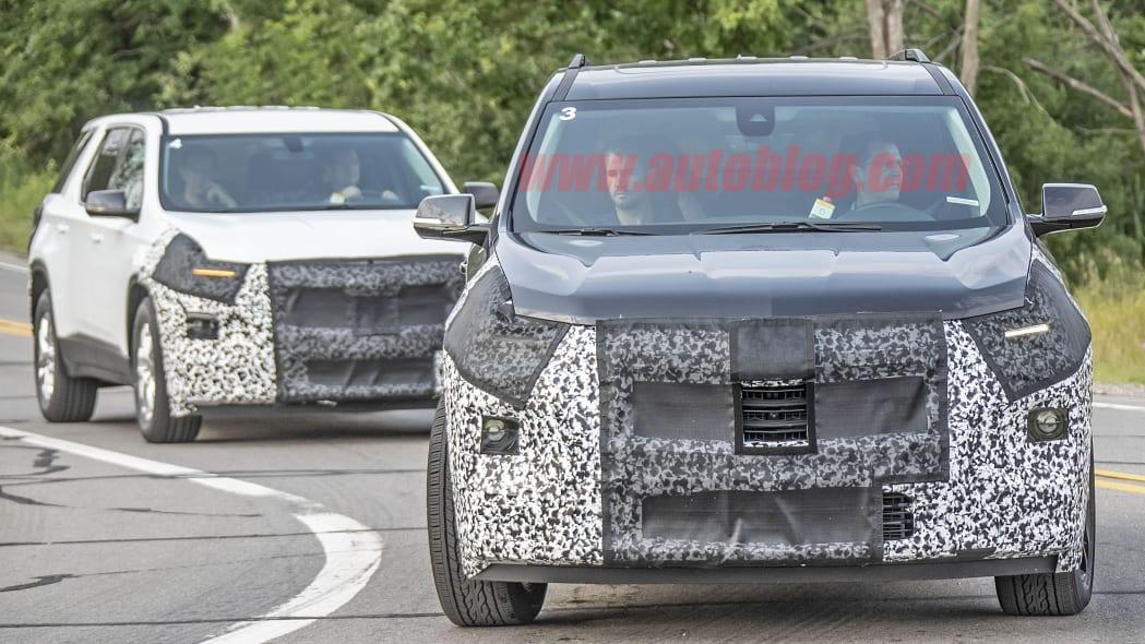 2021 Chevy Traverse spied
