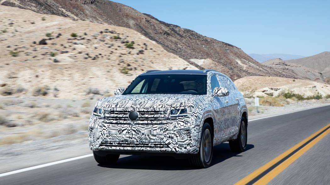 2020 Volkswagen Atlas Cross Sport Prototype Review | Roasting in Death Valley