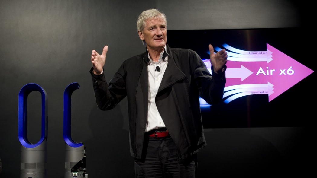 Dyson Hot Heater Launch Event