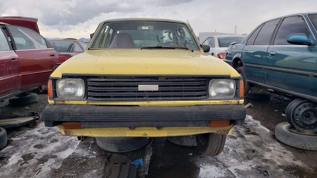 32 - 1982 Toyota Tercel in Colorado wrecking yard - photo by Murilee Martin