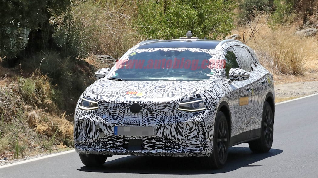 We spy the electric VW crossover