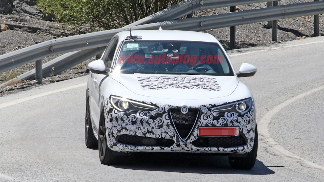 Alfa Romeo Stelvio refresh spied sporting the smallest of changes