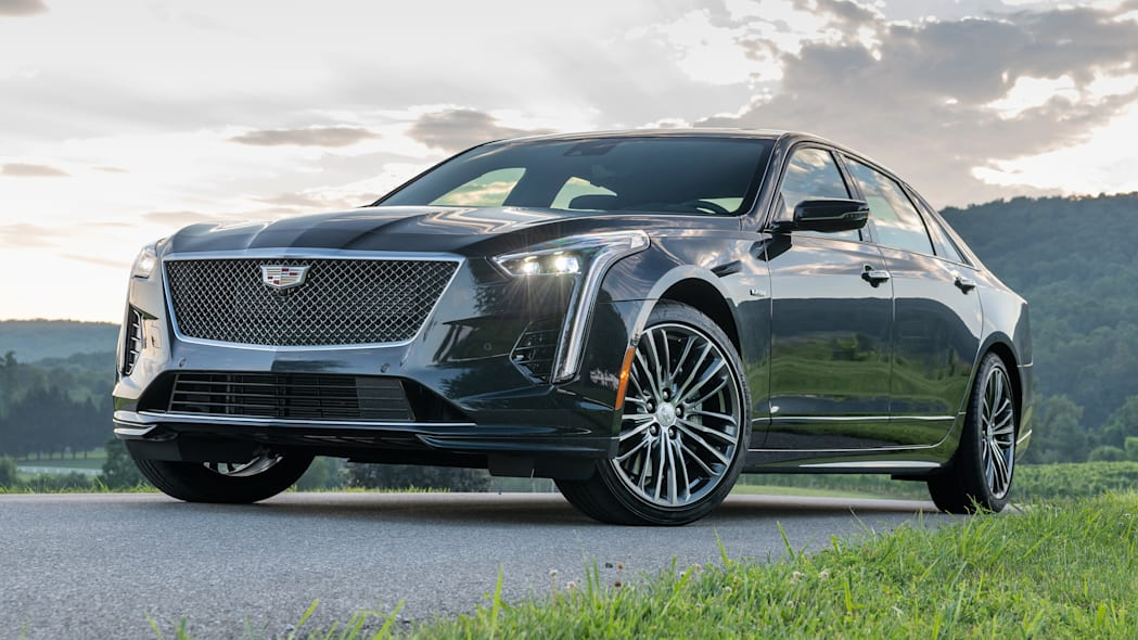 2020 Cadillac CT6-V exterior