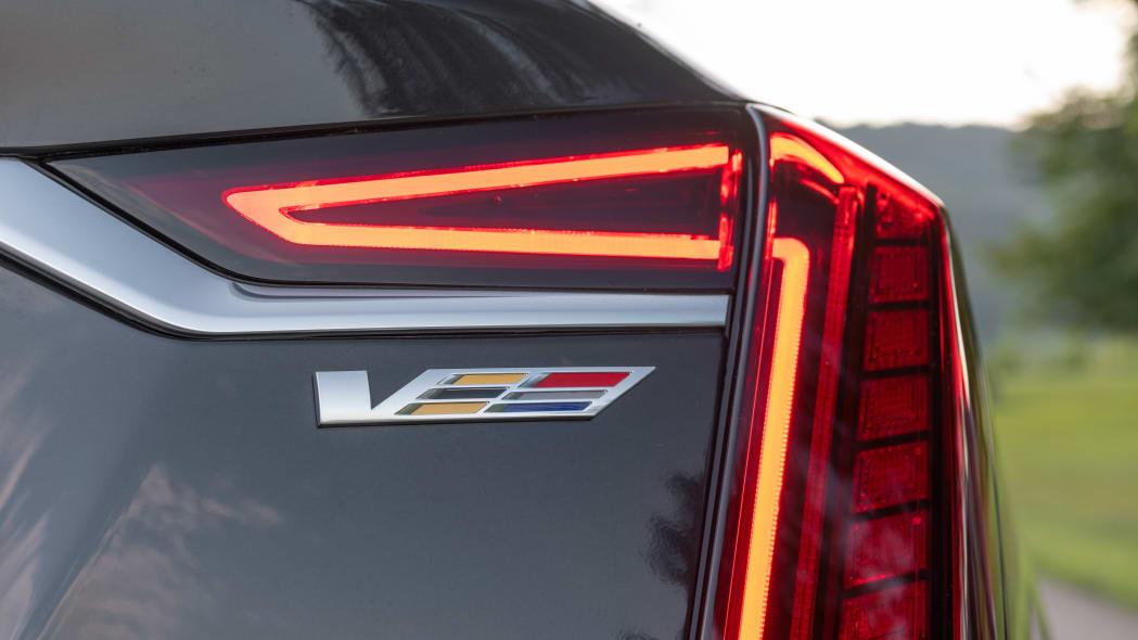 2020 Cadillac CT6-V taillight