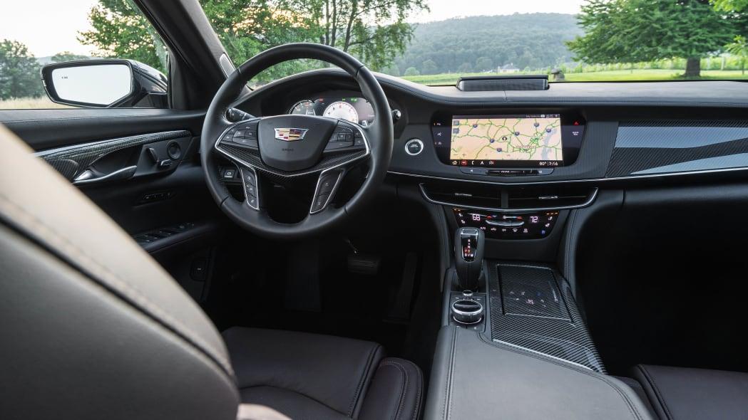 2020 Cadillac CT6-V interior