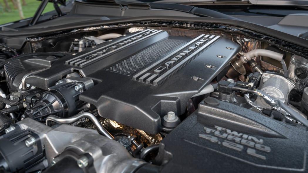 2020 Cadillac CT6-V engine