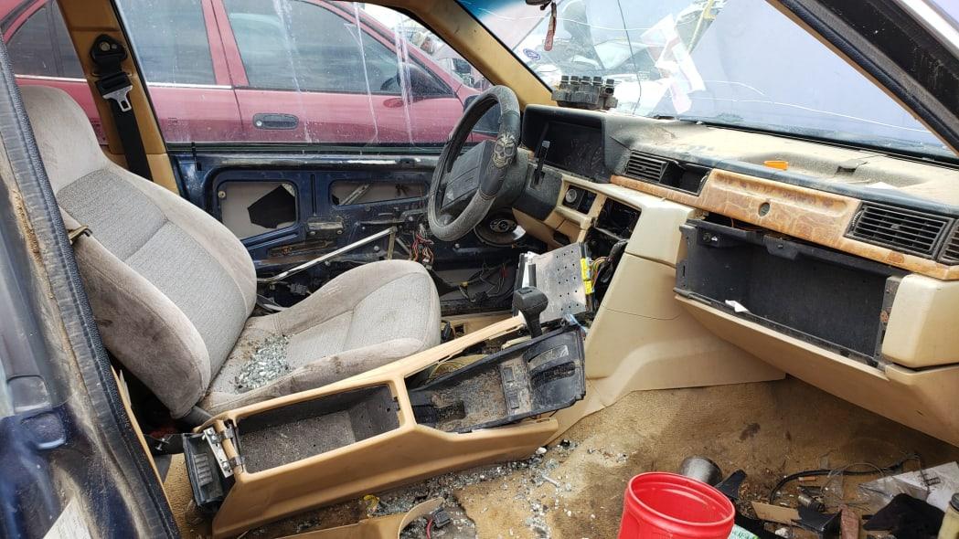 03 - 1991 Volvo 780 Bertone Coupe in Colorado junkyard - photo by Murilee Martin