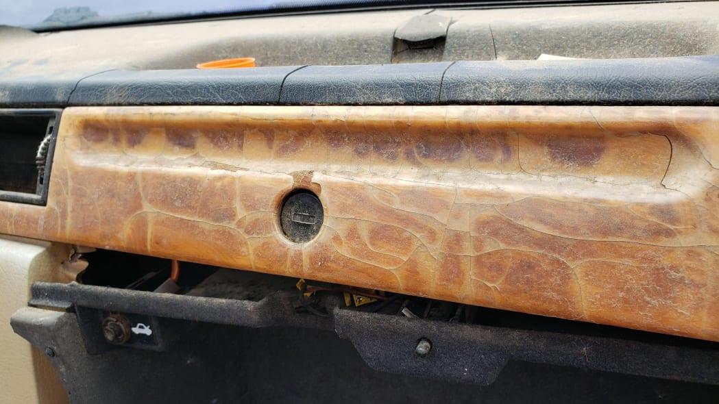 05 - 1991 Volvo 780 Bertone Coupe in Colorado junkyard - photo by Murilee Martin