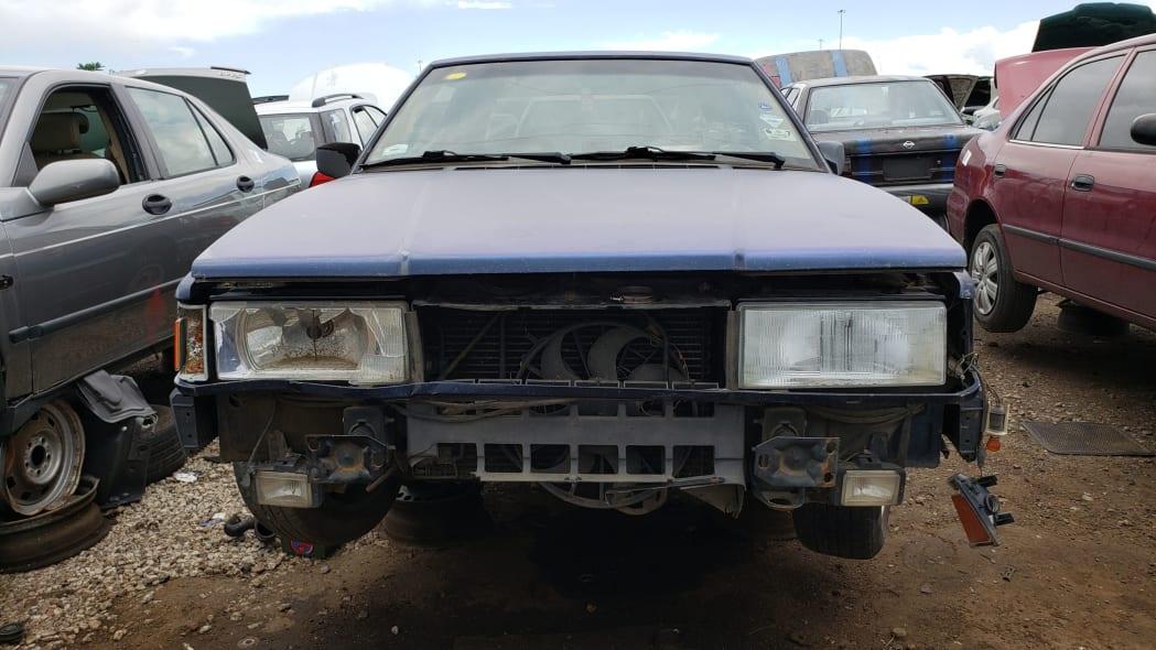 21 - 1991 Volvo 780 Bertone Coupe in Colorado junkyard - photo by Murilee Martin